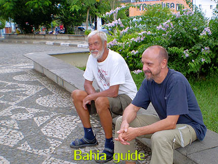 Happy traveller's faces while visiting Bahia with Ivan Salvador da Bahia & official tour guide, Rolf from Sweden