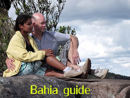 Happy traveller's faces while visiting Bahia with Ivan Salvador da Bahia & official tour guide, Canadian Chris and his Dutch wife Valerie