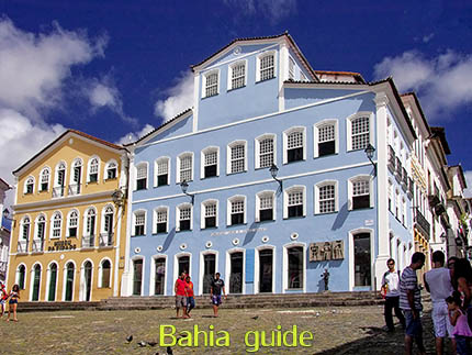Point of views in Salvador while visiting Bahia with Ivan Salvador da Bahia & official tour guide during the Salvador, 500 years in 1 day tour, former house of Jorge Amado in the Pelourinho historic city center