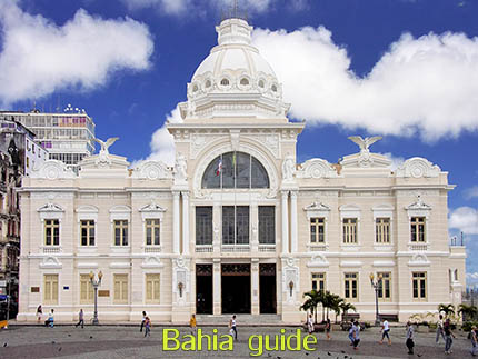 Point of views in Salvador while visiting Bahia with Ivan Salvador da Bahia & official tour guide during the Salvador, 500 years in 1 day tour, Palacio Rio Branco office of Brazil's governor Tome de Souza