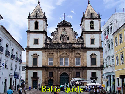 Point of views in Salvador while visiting Bahia with Ivan Salvador da Bahia & official tour guide during the Salvador, 500 years in 1 day tour, São Francisco Church