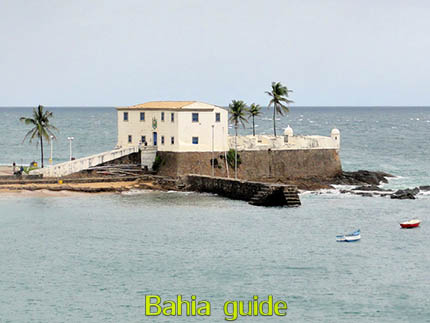 Point of views in Salvador while visiting Bahia with Ivan Salvador da Bahia & official tour guide during the Salvador, 500 years in 1 day tour, Forte Santa Maria at porto da Barra near the lighthouse Farol de Barra