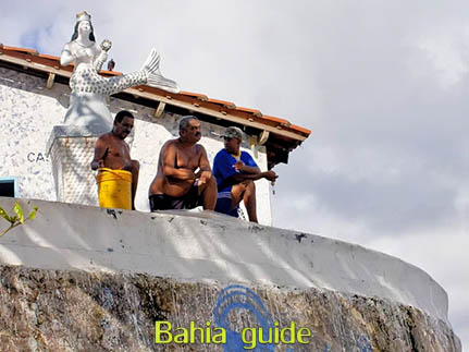 Point of views in Salvador while visiting Bahia with Ivan Salvador da Bahia & official tour guide during the Salvador, 500 years in 1 day tour, popular discussion spot under the lawfull eye of Yemanja, goddes of the sea in the Candomblé religion