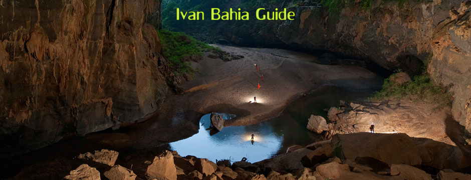 Ivan Salvador & Bahia tour-guide / reis-gids - walking in Chapada Diamantina - amazing walk sites / Brazil
