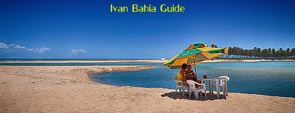 Itaparica island beaches along the Bay of All Saints, Brazil - Ivan Bahia Guide