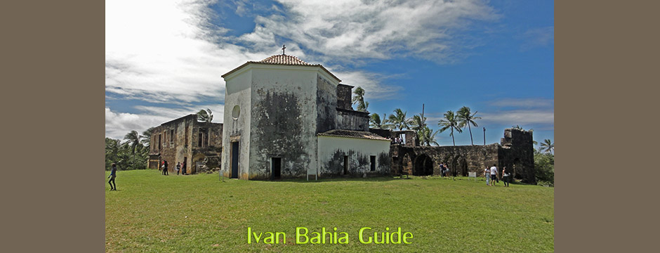 Praia do Forte, Castelo Dias D'Avila met Ivan Salvador & Bahia reis-gids / tour/guide