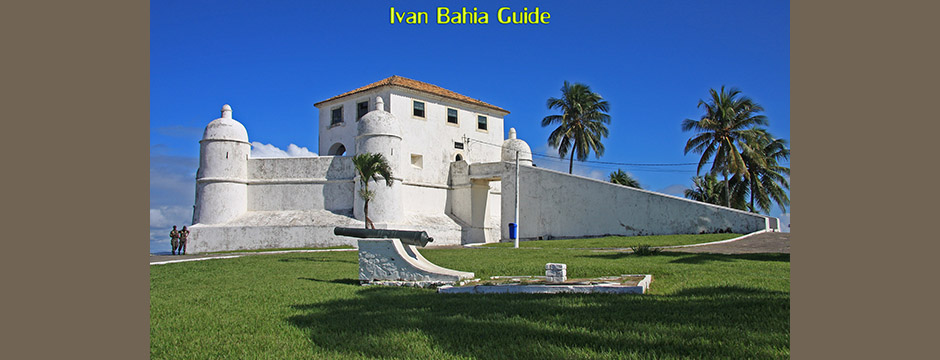 Salvador antique map 1620 - with Ivan's Salvador da Bahia & Chapada Diamantiana national park's official tour guide