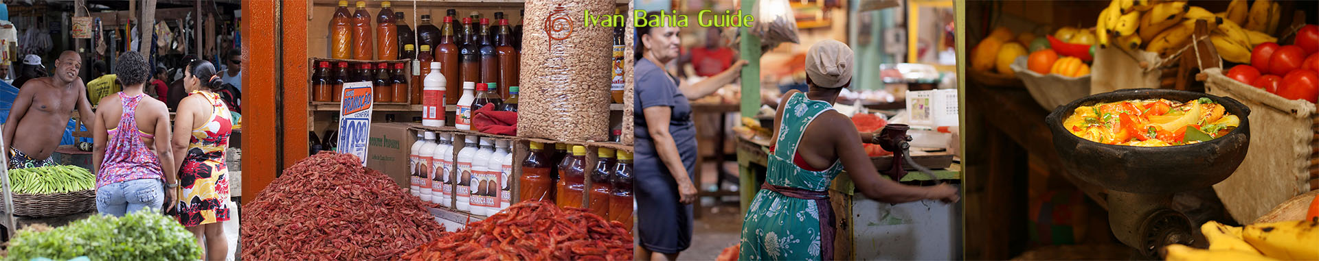 Ivan Bahia Guide, buy fish & vegetables on the market and learn to cook moqueca with your personal Chef
