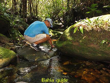 Drinkwater voorziening in het bos, fotos Chapada Diamantina nationaal park, wandelingen & trekking met vlaamse reis-gids Ivan (die al 10 jaar in Bahia woont) voor uw rond-reis met begeleiding in het Nederlands in Brazilië