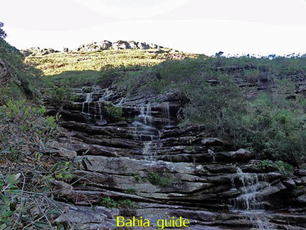 een waterval om elke hoek, fotos Chapada Diamantina nationaal park, wandelingen & trekking met vlaamse reis-gids Ivan (die al 10 jaar in Bahia woont) voor uw rond-reis met begeleiding in het Nederlands in Brazilië
