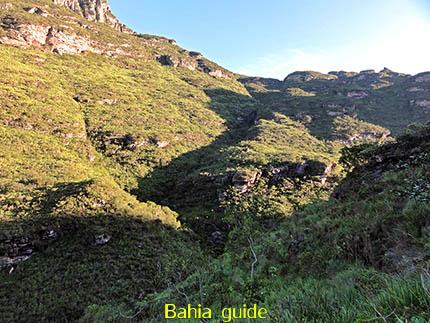 het 'Gouden Uur' voor de fotografen, fotos Chapada Diamantina nationaal park, wandelingen & trekking met vlaamse reis-gids Ivan (die al 10 jaar in Bahia woont) voor uw rond-reis met begeleiding in het Nederlands in Brazilië
